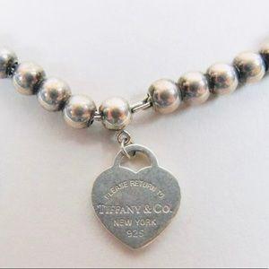 Tiffany & Co. Jewelry - Tiffany and Co Return to Tiffany